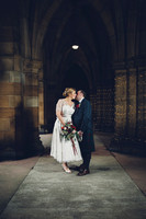 Barbara & Andy, Glasgow University Chapel & West Brewery.